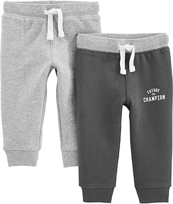 Athletic Knit Jogger Pants for Toddler Boys by Simple Joys