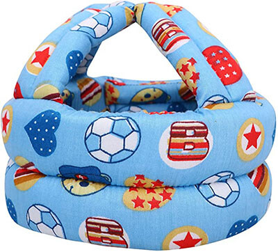 Simplicity Baby Infant Toddler No Bumps Safety Helmet