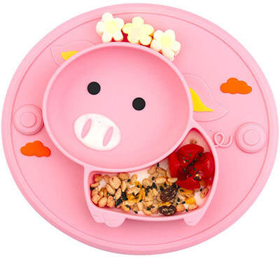 Novos Baby Divided Plate Silicone